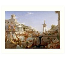 The Consummation of Empire by Thomas Cole (1836) Art Print