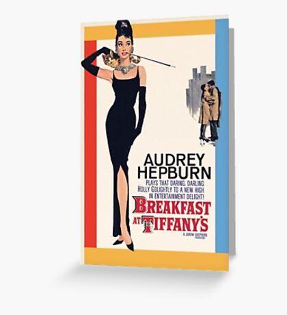 breakfast at tiffany's ♡ Greeting Card