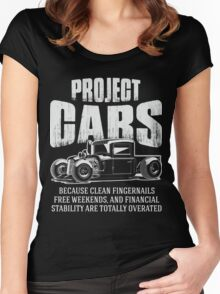 Hot Rod - Project Cars Women's Fitted Scoop T-Shirt