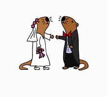 Cool Funny Otters Getting Married Unisex T-Shirt