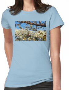 Cherry tree Womens Fitted T-Shirt