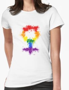 Rainbow XX Womens Fitted T-Shirt