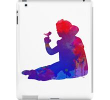 Princess Inspired Silhouette iPad Case/Skin