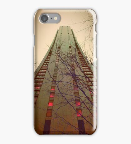 Skyscraper in Green iPhone Case/Skin
