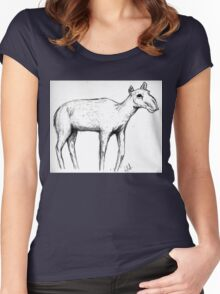 Saiga Antelope Women's Fitted Scoop T-Shirt
