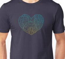 Techno Heart Unisex T-Shirt