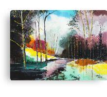 Deep 5 Canvas Print