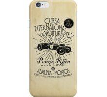 CURSA INTERNATIONAL DE VOITURETTES iPhone Case/Skin
