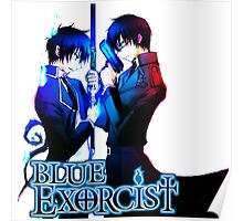 Blue Exorcist -Brother's Rin & Yukio Poster