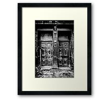Doors of the Abyss Framed Print