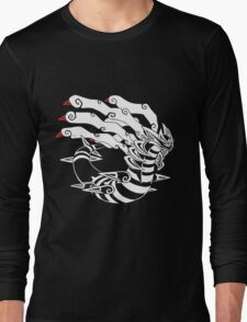 Master of DIstortion - White Long Sleeve T-Shirt