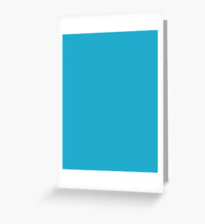 Ball Blue  Greeting Card