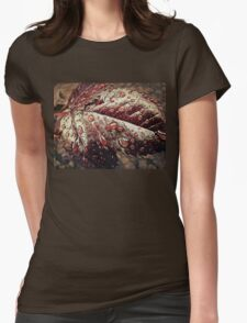 Water drops 2 Womens Fitted T-Shirt