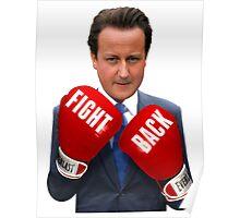 Fight Back, David Cameron Poster