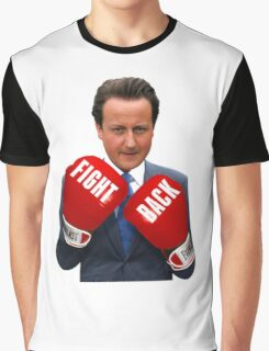 Fight Back, David Cameron Graphic T-Shirt