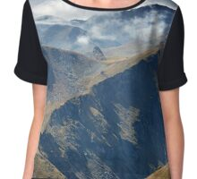 High mountains Chiffon Top
