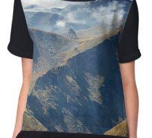 High mountains Chiffon Top