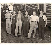 Southern Men Photographic Print