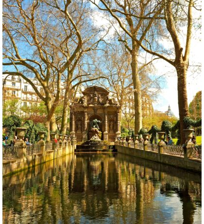 The Medici Fountain in Spring Sticker