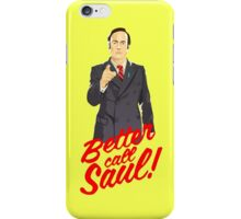 Better call Jimmy iPhone Case/Skin
