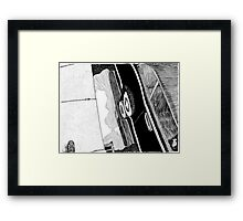 Puddle Framed Print