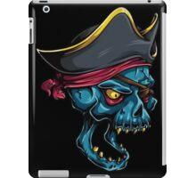 Pirate Skull Blue iPad Case/Skin