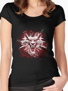 The White Wolf Women's Fitted Scoop T-Shirt