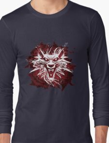 The White Wolf Long Sleeve T-Shirt
