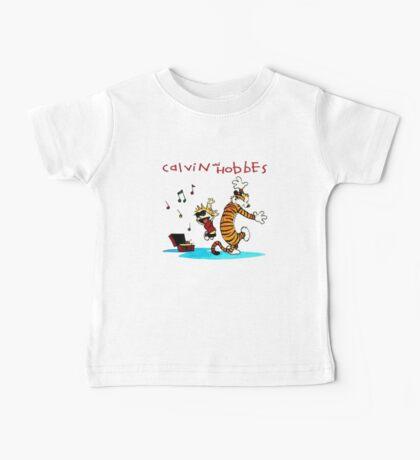 Calvin And Hobbes Dancing Baby Tee