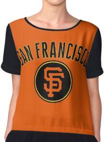 San Francisco Giants Chiffon Top