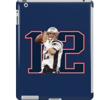 Tom Brady - Brady #12 iPad Case/Skin