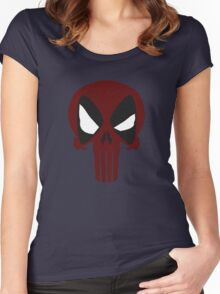 DEAD PUNISHER Women's Fitted Scoop T-Shirt