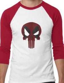 DEAD PUNISHER Men's Baseball ¾ T-Shirt