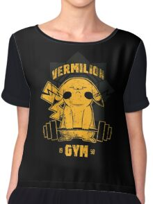 Vermilion Gym Chiffon Top