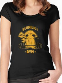 Vermilion Gym Women's Fitted Scoop T-Shirt