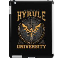 Hyrule University iPad Case/Skin
