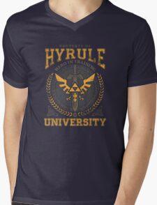 Hyrule University Mens V-Neck T-Shirt