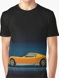 Lamborghini Miura Painting Graphic T-Shirt