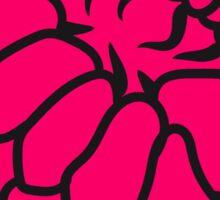raspberry berries Sticker