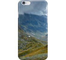 Mountain range landscape iPhone Case/Skin
