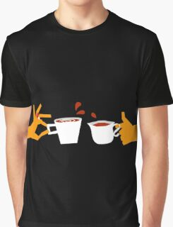 Murder At Tea Time Graphic T-Shirt