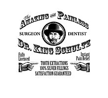 Schultz Dentistry White Photographic Print