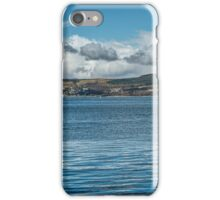 Scottish Panorama over the River Clyde iPhone Case/Skin