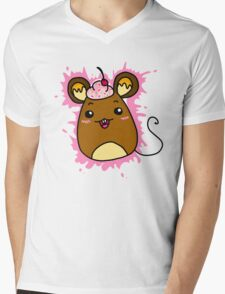 Mouse Mens V-Neck T-Shirt