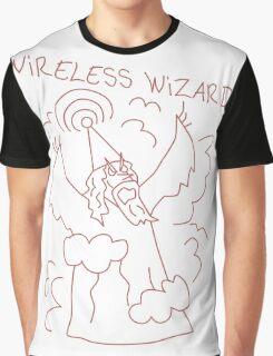 Wireless Wizard Graphic T-Shirt