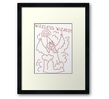 Wireless Wizard Framed Print