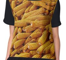 Corn cobs in a barn Chiffon Top