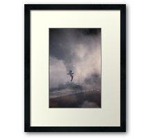 Brighton Beach Gull Framed Print