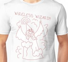 Wireless Wizard Unisex T-Shirt