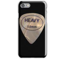 Rock & Roll Guitar Pick - Heavy iPhone Case/Skin